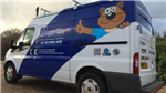 Van vehicle livery graphics sign writing Gallery Thumbnail