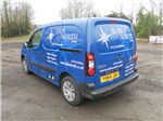 basic simple Van vehicle livery graphics sign writing Gallery Thumbnail