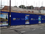 Construction hoarding graphics for development and building companies Gallery Thumbnail