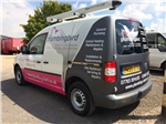 plumbers trade Van vehicle livery graphics sign writing Gallery Thumbnail