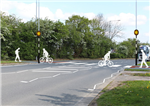 Flintshire Council appointed Local Transport Projects to develop a cycleway. By using the plans provided, 2B created a simple line graphic to help explain and visualise how the cycleway would cross the busy road. Gallery Thumbnail