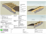The great thing about running a contract is that you get to go from an exciting proposal to the reality of an operational trail. These steps were drawn for the construction contractors. Gallery Thumbnail