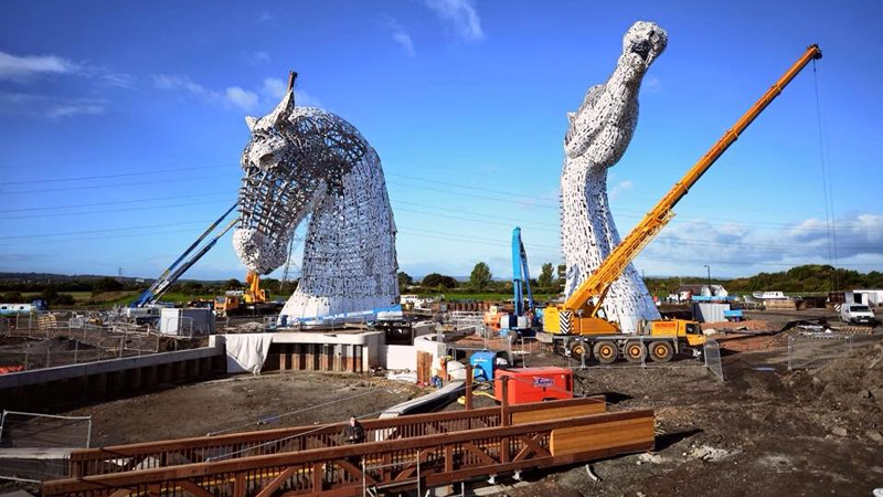 Steel Reinforcing And Crane Hire Central Scotland Crane