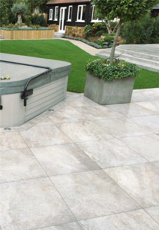 The Armapave Collection is a hand selected range of 20mm vitrified pavers for landscaping and garden projects. Moss, Algae and Stain Resistant Anti-slip pavers for commercial and residential projects Gallery Image