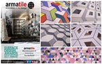 Armatile manufacture bespoke tile surfaces for designers and architects throughout Ireland, UK and World #MadeByArmatile Gallery Thumbnail