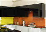 Two Colour Glass Splashback Gallery Thumbnail