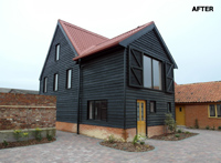 This barn was a conversion from a derelict building and won a RIDBA FAB Award for diversification in 2015. It is now used as office space. Gallery Image