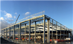 400 tonnes of structural steelwork for NEXT retail store at Norwich, Norfolk. Built for main contractor R.G.Carter Ltd. Gallery Thumbnail