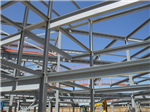 700 tonnes of structural steelwork at Stanground Academy, Cambs. Supplied for Main Contractor Kier Eastern. Gallery Thumbnail