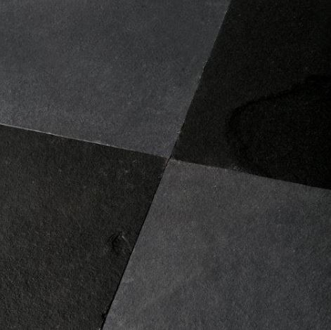 Black and Grey Limestone Paving Gallery Image