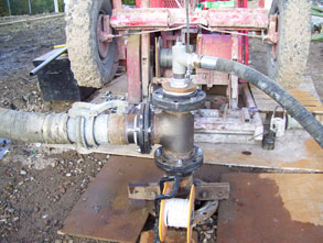 Airlift - borehole maintenance Gallery Image