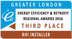 RHI Installer of the Year 2016 Third Place - Greater London Gallery Thumbnail