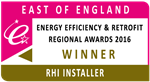 RHI Installer of the Year 2016 Winner  - East of England Gallery Thumbnail