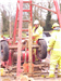 Borehole construction using cable-tool percussion drilling rig, as preferred by the Environment Agency Gallery Thumbnail