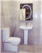 Murcia Toilet & Basin With Pedestal  Gallery Thumbnail