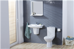 Carina Toilet & Basin With Pedestal Gallery Thumbnail