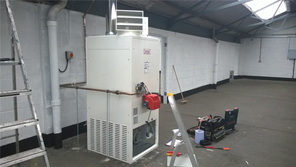 Commercial Boilers & Space Heaters installed, serviced and repaired.  Gallery Image
