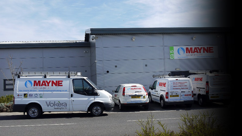 Mayne Gas Heating premises at The Enterprise Village,Grimsby. Gallery Image