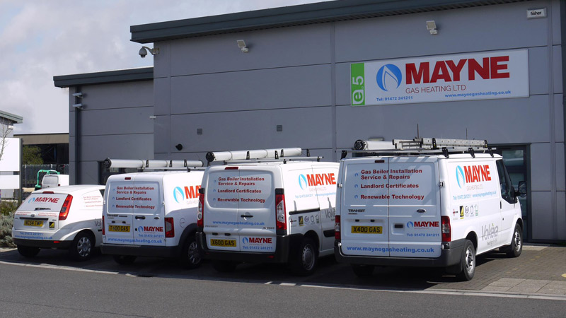 Mayne Gas Heating Offices at E5 The Enterprise Village, Grimsby.  DN31 3AT.  Gallery Image