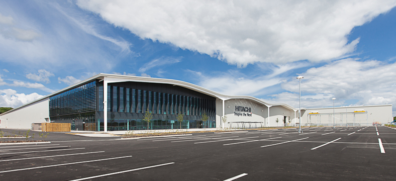 Hitachi Rail, Newton Aycliffe - £31m construction of a single-storey Assembly Facility together with approximately 450 car parking spaces Gallery Image