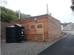 Scargill Biomass, Kettlewell - £260k construction of Biomass boiler plantroom, including large sub-terrain Biomass store.  This district heating system serves the entire site Gallery Thumbnail