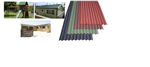 Onduline is an extremely tough, lightweight, corrugated roofing and wallcladding material manufactured utilising a base board produced from recycled cellulose fibres which is saturated with bitumen under intense pressure and heat. Gallery Thumbnail