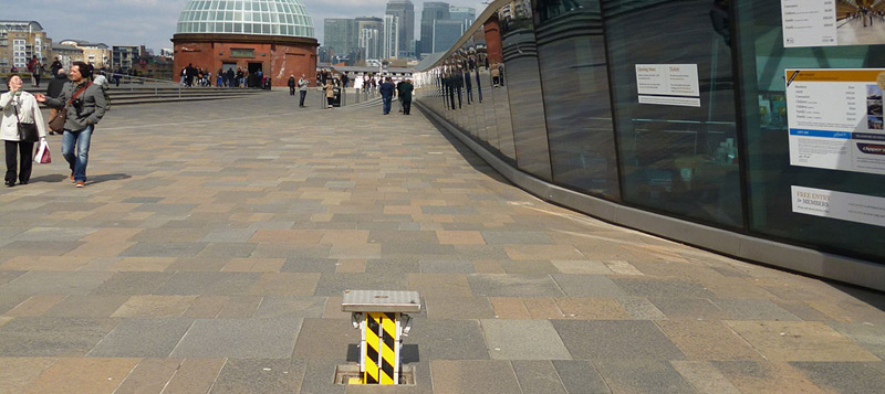 Pop Up Power Unit at Cutty Sark. Gallery Image