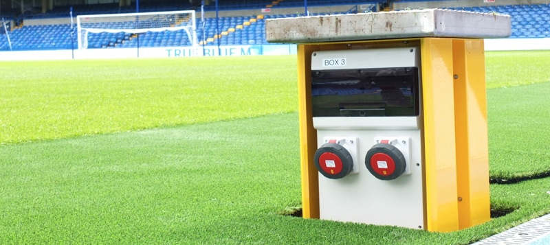 Retractable Service Unit at Chelsea Football Club Gallery Image