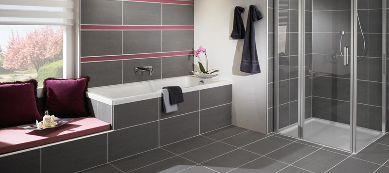 Dural provides a range of wetroom solutions, including tiled showers and drains. Gallery Image