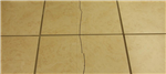 When it goes wrong and no movement protection is used within tiled flooring installations. Gallery Thumbnail