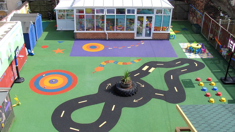 Colourful Safety Surfacing Gallery Image