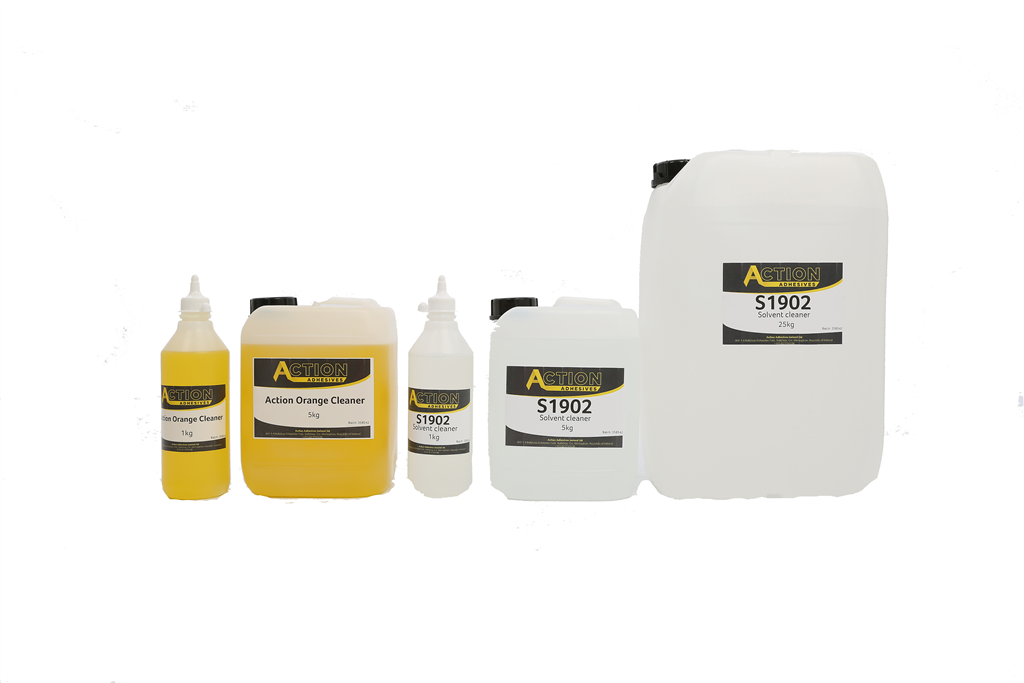 Action Adhesives Surface cleaner range Gallery Image