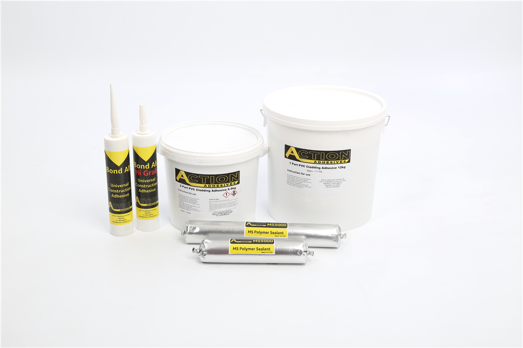 Action Adhesives PVC Cladding range Gallery Image