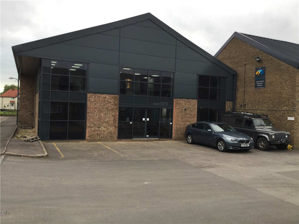 Industrial unit after conversion to new offices Gallery Image