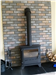 Our Brindle Blend Brick Slips on Kerros Fire Panels. Gallery Thumbnail