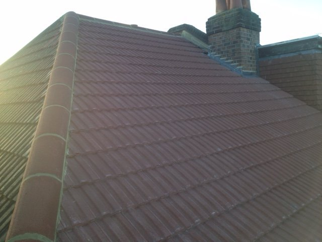 New roof tile edging  Gallery Image