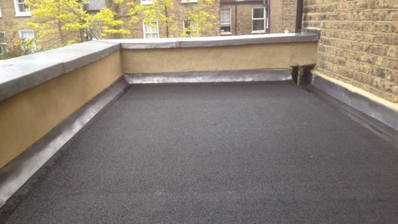 Flat Roof with Lead Flashing Gallery Image