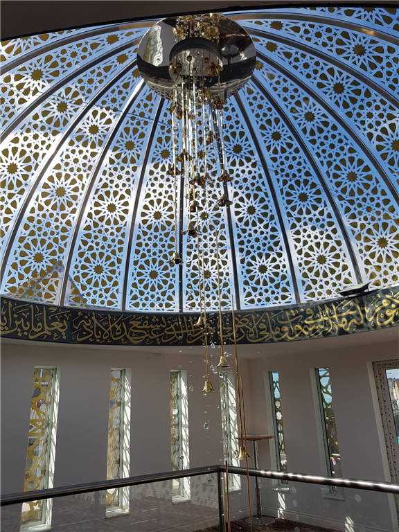 Dome and extension design, Easton Mosque Gallery Image