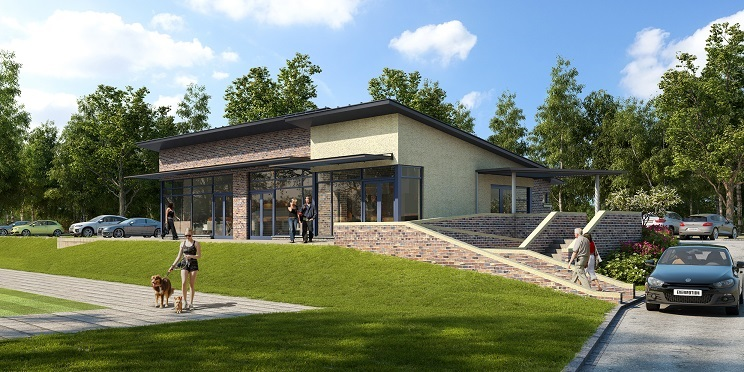 Civil and structural design for the Gloucestershire FA, for GSH Architects Gallery Image