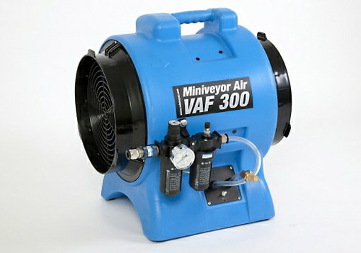 Intrinsically Safe Electric Fans : Vaf air…tough fans for tough jobs the professional choice