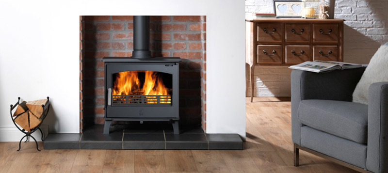 Professional stove services northampton stove for Wood burning fireplace construction