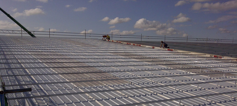 New Build Industrial Roofing And Cladding Maintenance And