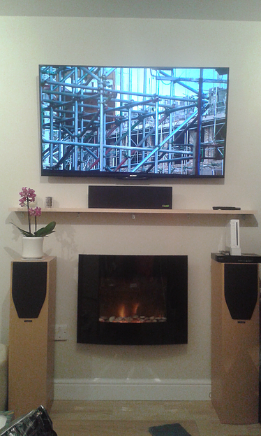 Home Entertainment System Installation Gallery Image