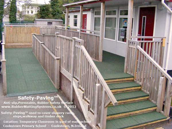 commercial anti slip - safety paving - primary school Gallery Image