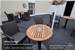 anti slip outdoor - rubber safety paving - grey - greenvale hotel Gallery Thumbnail