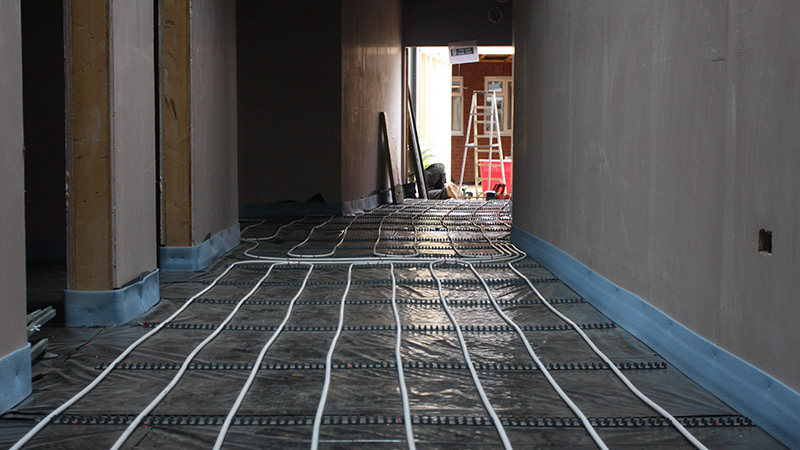 Gaia Wet Underfloor Heating Gallery Image