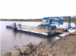 Road transportable pontoon with access system Gallery Thumbnail