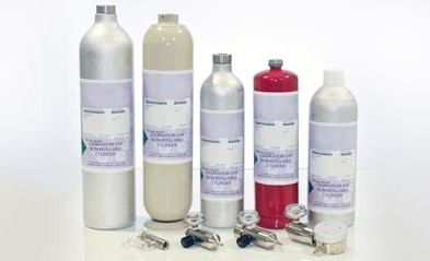 Bump & Calibration gases for all gas types. Gallery Image