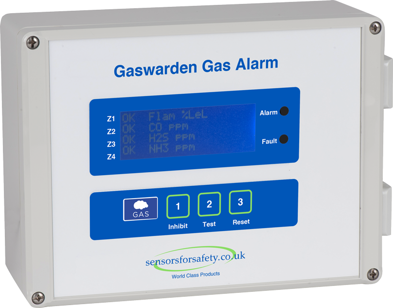 S4S Gaswarden Low cost gas detection system - up to 64 sensors for all gases Gallery Image
