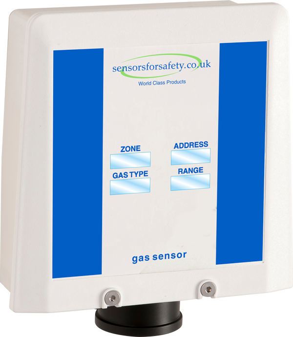 S4S Guardian® Point SA Safe area gas sensor. 4-20mA and Addressable for use with all S4S Guardian control panels. Gallery Image